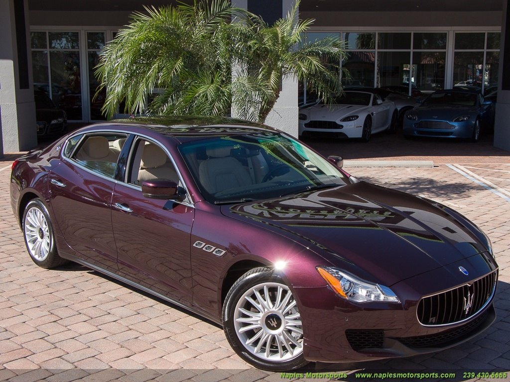 2014 Maserati Quattroporte S Q4 - Photo 46 - Naples, FL 34104