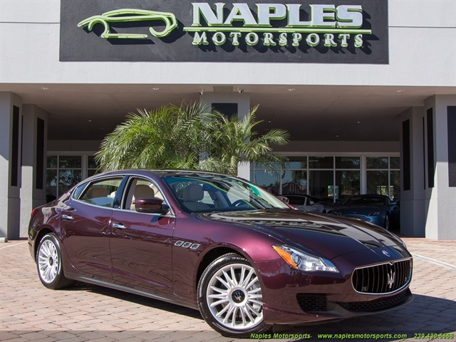 2014 Maserati Quattroporte S Q4 - Photo 1 - Naples, FL 34104
