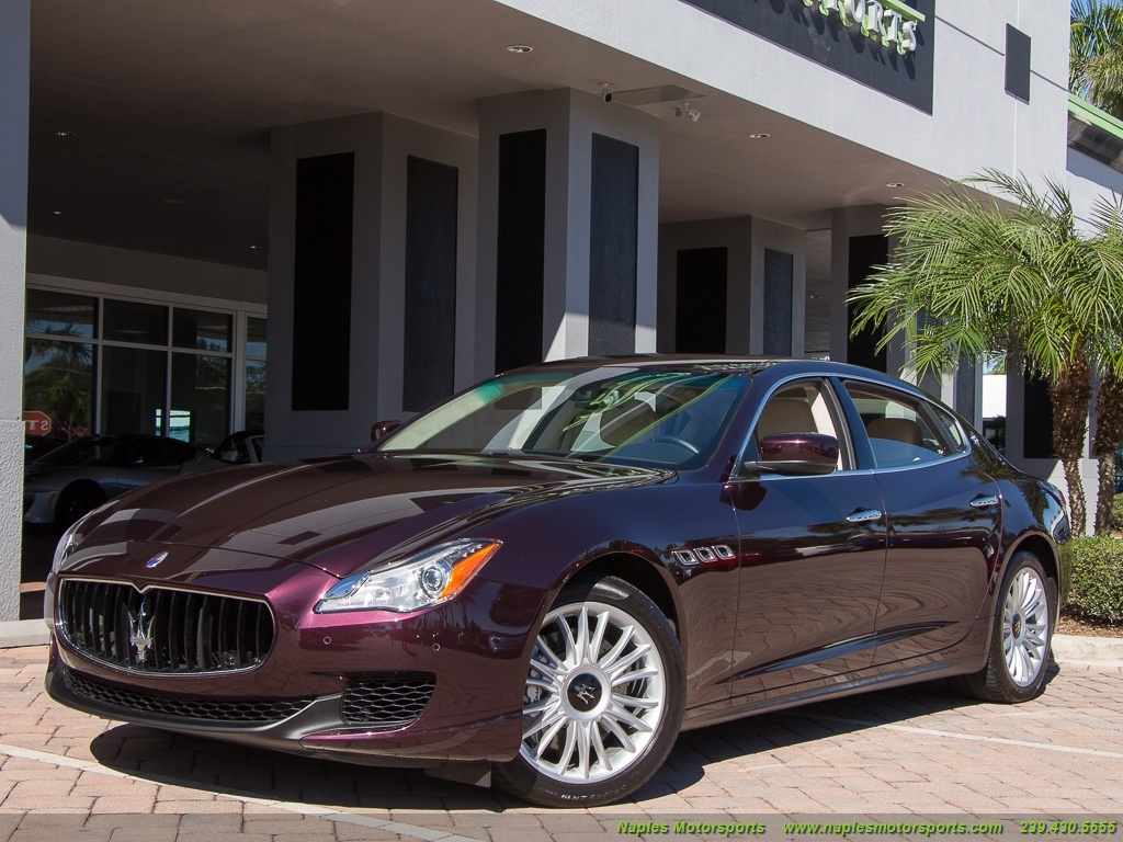2014 Maserati Quattroporte S Q4 - Photo 51 - Naples, FL 34104