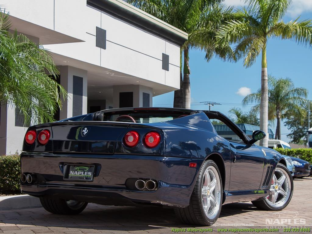 2005 Ferrari 575 Superamerica - 6 Speed Manual - Photo 45 - Naples, FL 34104