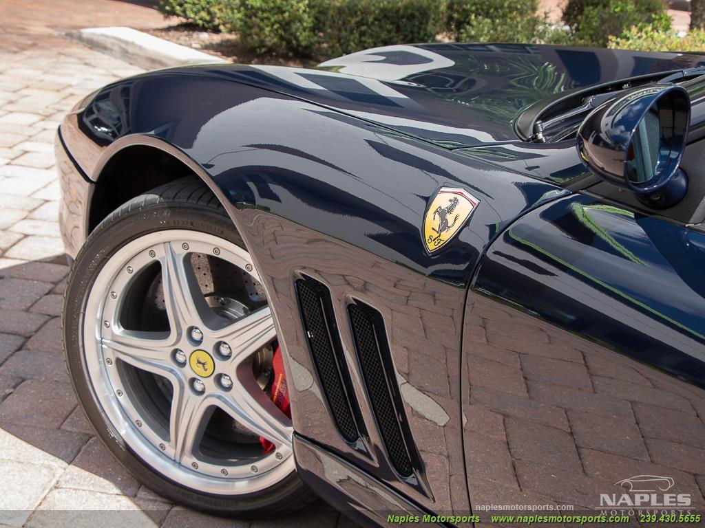 2005 Ferrari 575 Superamerica - 6 Speed Manual - Photo 29 - Naples, FL 34104