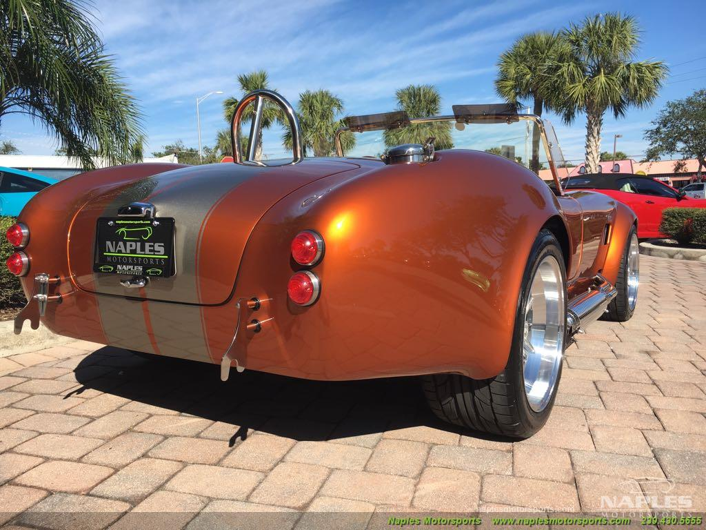 1965 Replica/Kit 1965 Backdraft Cobra Iconic 427 Roadster - Photo 11 - Naples, FL 34104