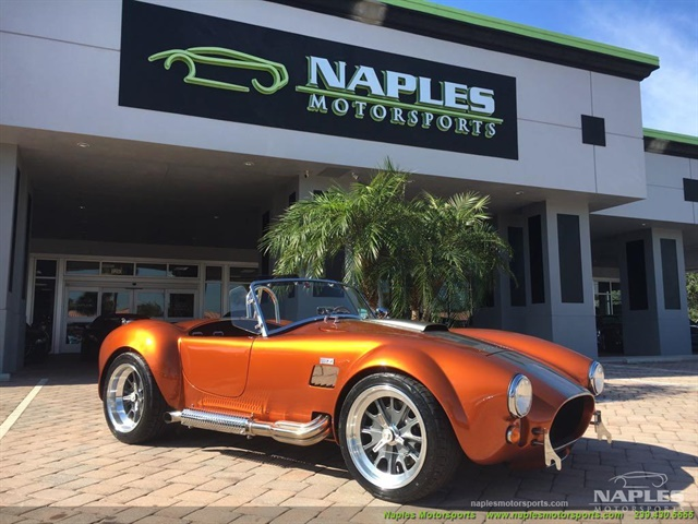 1965 Replica/Kit 1965 Backdraft Cobra Iconic 427 Roadster - Photo 1 - Naples, FL 34104