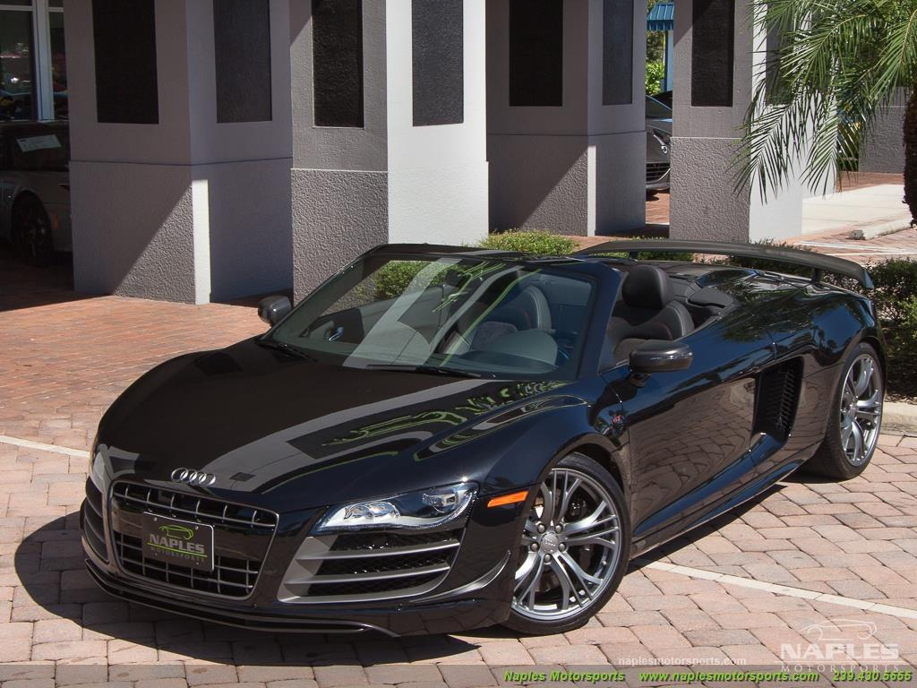 2012 Audi R8 GT 5.2 quattro Spyder - Photo 45 - Naples, FL 34104