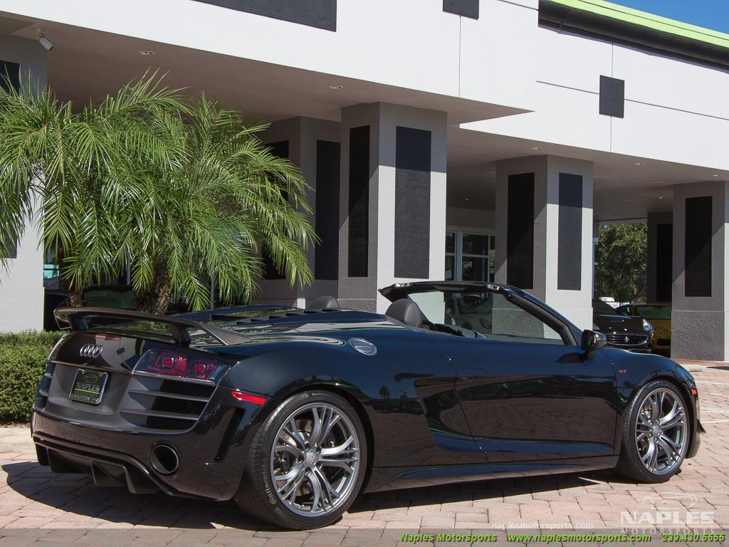 2012 Audi R8 GT 5.2 quattro Spyder - Photo 19 - Naples, FL 34104