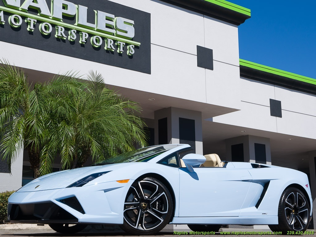 2014 Lamborghini Gallardo LP 560-4 Spyder - Photo 9 - Naples, FL 34104