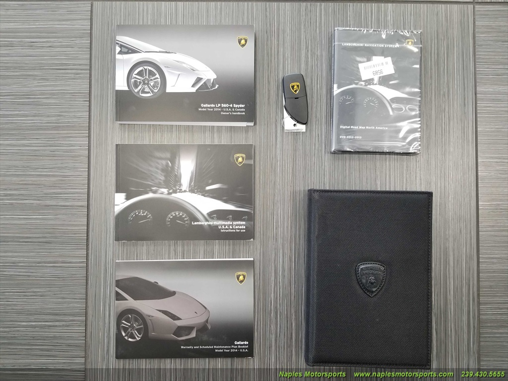 2014 Lamborghini Gallardo LP 560-4 Spyder - Photo 58 - Naples, FL 34104
