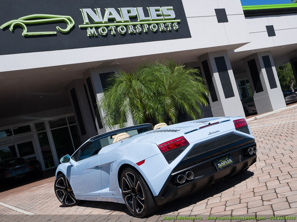 2014 Lamborghini Gallardo LP 560-4 Spyder - Photo 33 - Naples, FL 34104