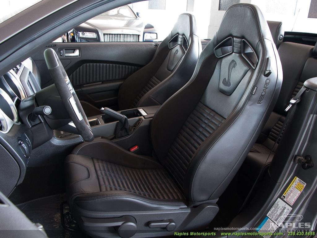 2014 Ford Mustang Shelby Gt500 For Sale In Naples Fl Stock 16 251934