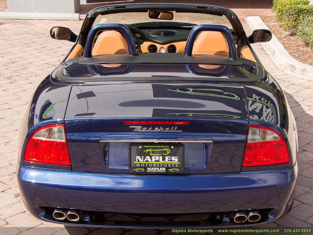 2002 Maserati Spyder - Photo 52 - Naples, FL 34104