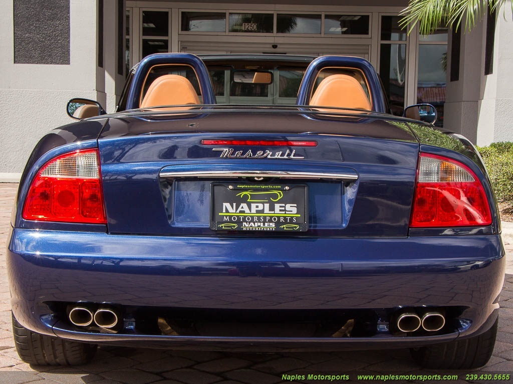 2002 Maserati Spyder - Photo 53 - Naples, FL 34104