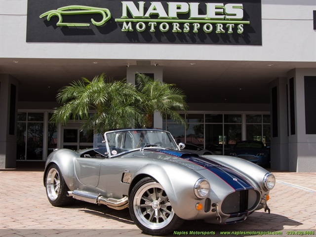 2014 Replica/Kit BackDraft Racing 427 Shelby Cobra Replica - Photo 1 - Naples, FL 34104