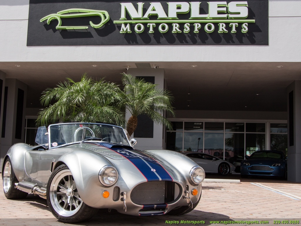 2014 Replica/Kit BackDraft Racing 427 Shelby Cobra Replica - Photo 45 - Naples, FL 34104