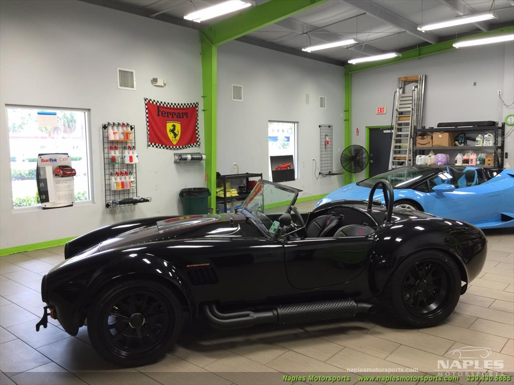 1965 Replica/Kit Backdraft Racing Shelby Cobra Supercharged