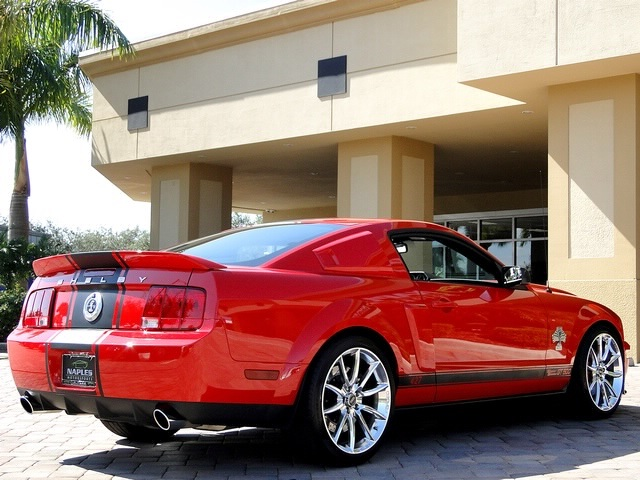 Ford Mustang Shelby GT Super Snake - 2007 mustang