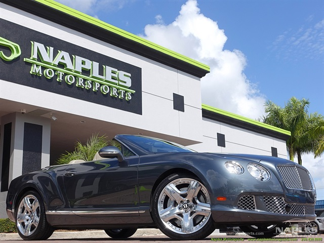 2012 Bentley Continental Gt Gtc Mulliner