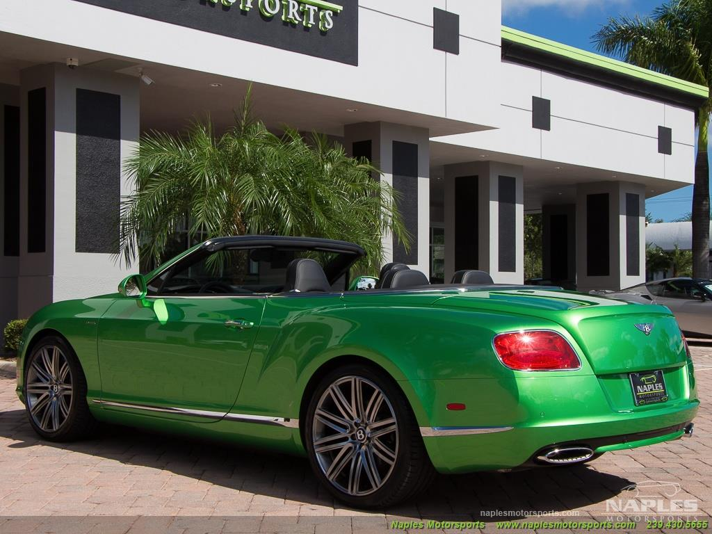2014 Bentley Continental GT GTC Speed: 2014 Bentley Continental GTC Speed, Naim Audio, Adaptive Cruise, Very Unique