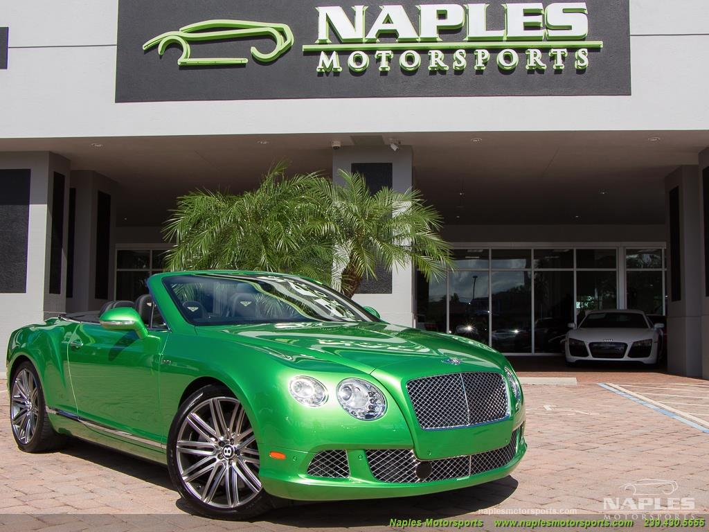 2014 Bentley Continental GT GTC Speed - Photo 54 - Naples, FL 34104
