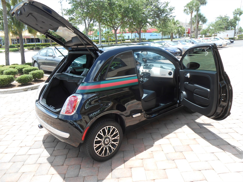 2012 fiat 500 gucci. Black Bedroom Furniture Sets. Home Design Ideas