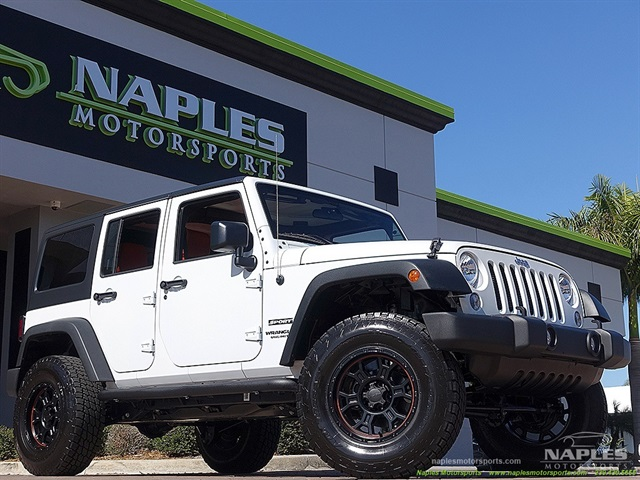 2015 jeep wrangler unlimited sport for Motor vehicle naples fl