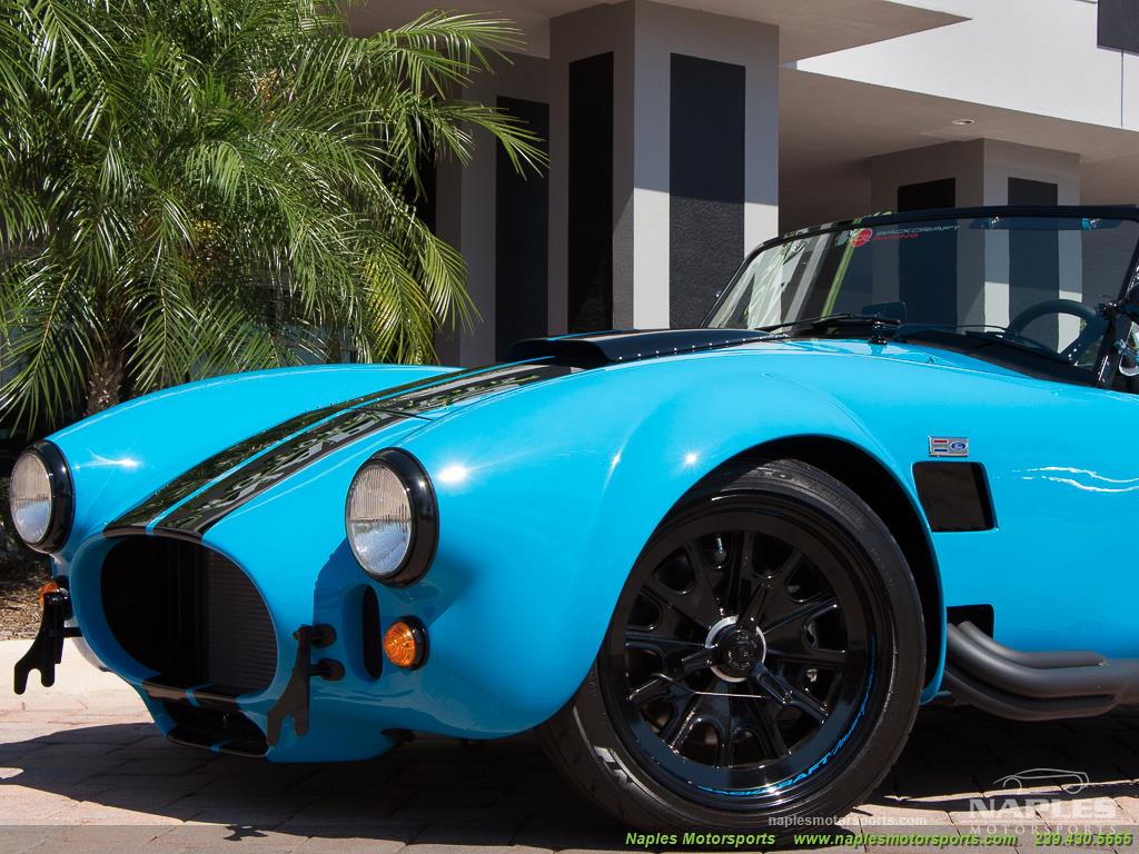 1965 Replica/Kit BackDraft Racing 427 Shelby Cobra Replica - Photo 16 - Naples, FL 34104