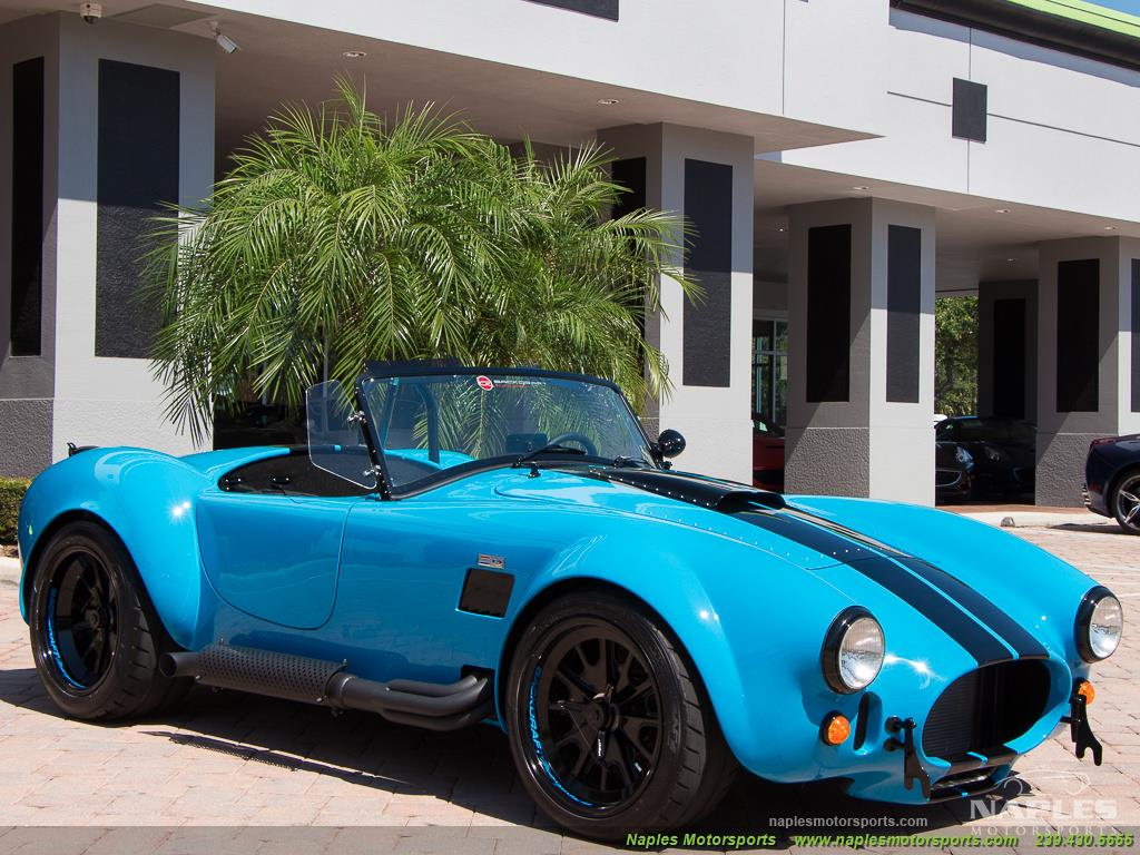 1965 Replica/Kit BackDraft Racing 427 Shelby Cobra Replica - Photo 39 - Naples, FL 34104