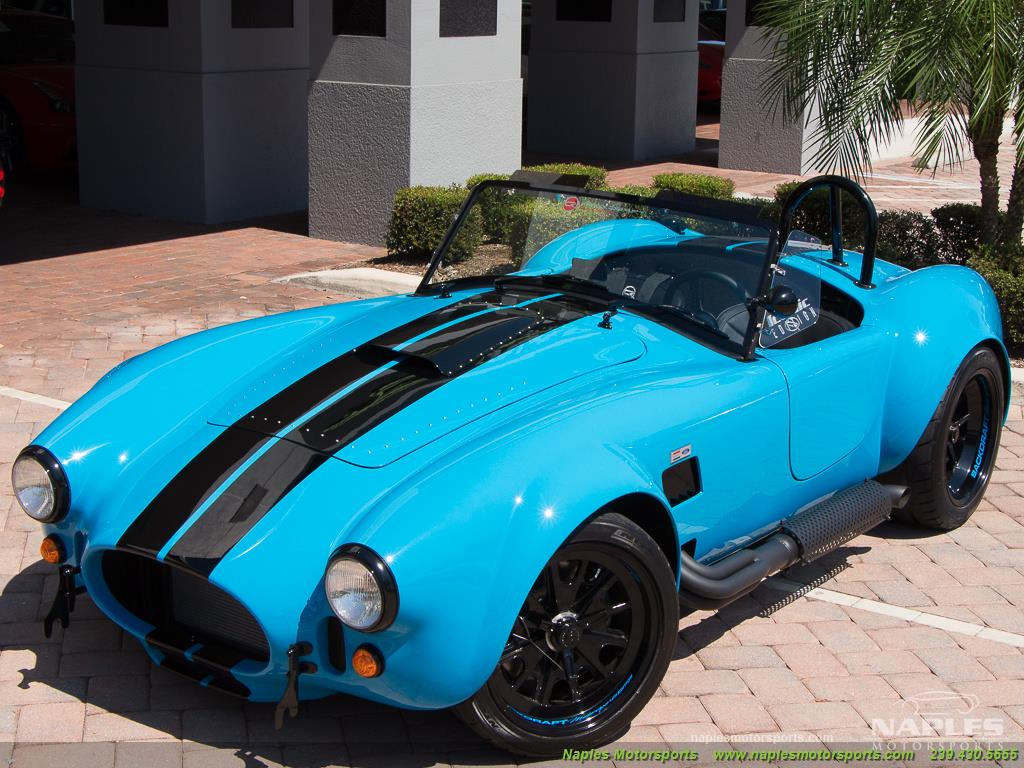 1965 Replica/Kit BackDraft Racing 427 Shelby Cobra Replica - Photo 49 - Naples, FL 34104