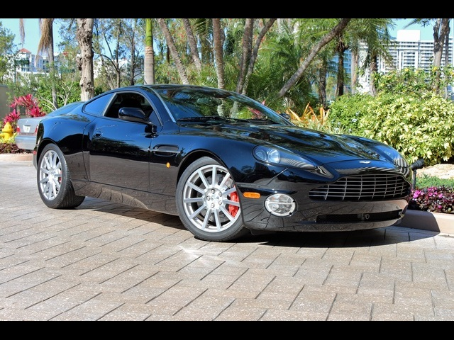 2005 aston martin vanquish s 6 sp manual for sale in miami fl stock 13257. Black Bedroom Furniture Sets. Home Design Ideas