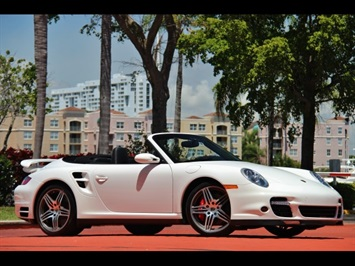 2008 Porsche 911 Turbo Cabriolet 6 Speed Manual Transmission Convertible