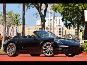 2013 Porsche 911 Carrera Cabriolet 6 Speed Manual Transmission Convertible