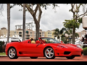 2004 Ferrari 360 Spider F1 PPI Approved Very Recent Belt Service Convertible
