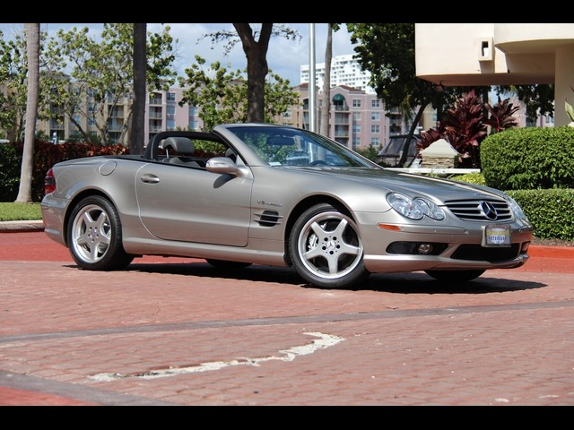2003 mercedes benz sl55 amg for sale in miami fl stock for Mercedes benz miami florida