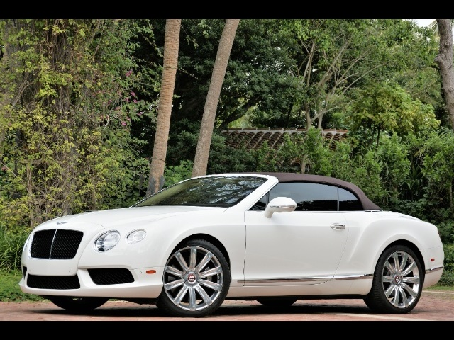 2014 Bentley Continental GT GTC V8 CONVERTIBLE - Photo 4 - North Miami, FL 33181