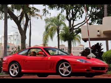 1997 Ferrari 550 Maranello 6 Speed Manual Transmission Coupe