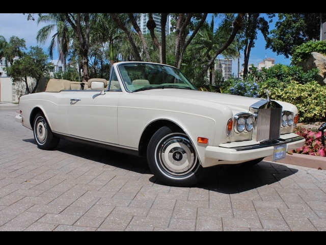 1989 rolls royce corniche ii for sale in miami fl stock 12320. Black Bedroom Furniture Sets. Home Design Ideas