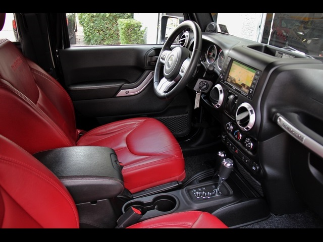 2013 jeep wrangler rubicon 10th anniversary edition for - Jeep wrangler red interior for sale ...
