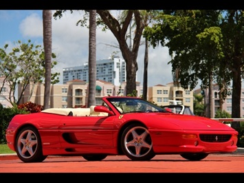 1998 Ferrari F355 Spider 6 Speed Manual Transmission Convertible