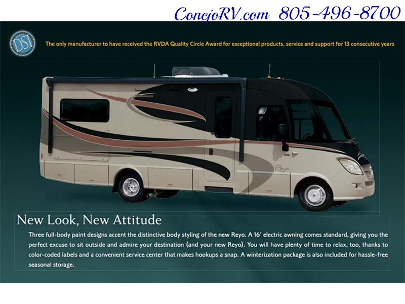 2010 Itasca Reyo 25R Full Wall Slide Full Body Paint Diesel - Photo 39 - Thousand Oaks, CA 91360