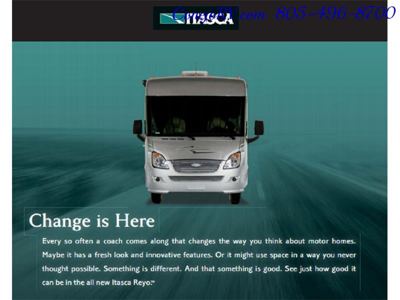 2010 Itasca Reyo 25R Full Wall Slide Full Body Paint Diesel - Photo 37 - Thousand Oaks, CA 91360