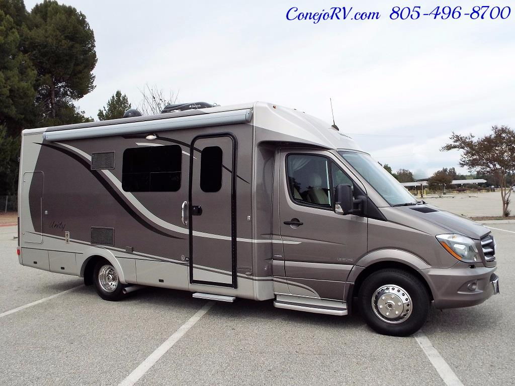 2014 Leisure Travel Unity 24 Murphy Bed Mercedes Diesel - Photo 3 - Thousand Oaks, CA 91360