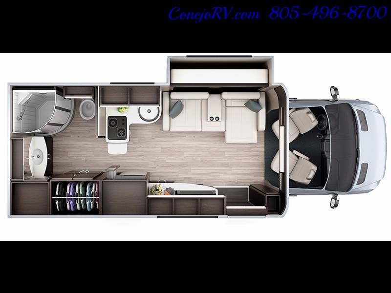 2014 Leisure Travel Unity 24 Murphy Bed Mercedes Diesel - Photo 26 - Thousand Oaks, CA 91360