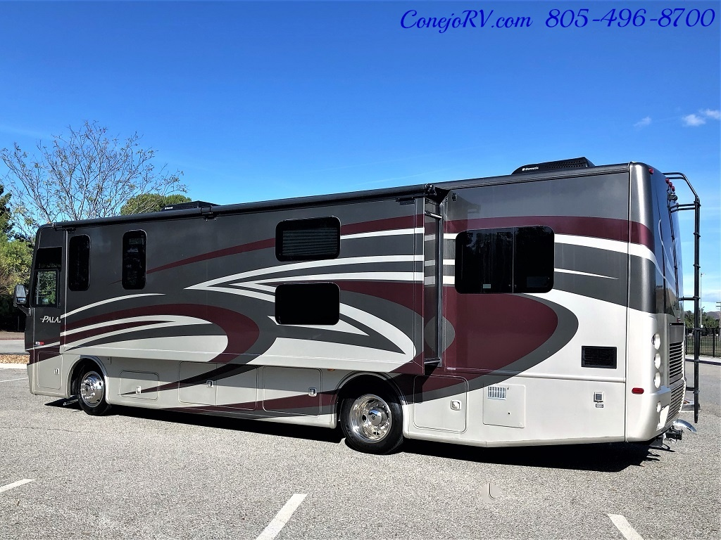 2014 Thor Palazzo 33.3 Double Slide Outs Bunkhouse Diesel - Photo 2 - Thousand Oaks, CA 91360