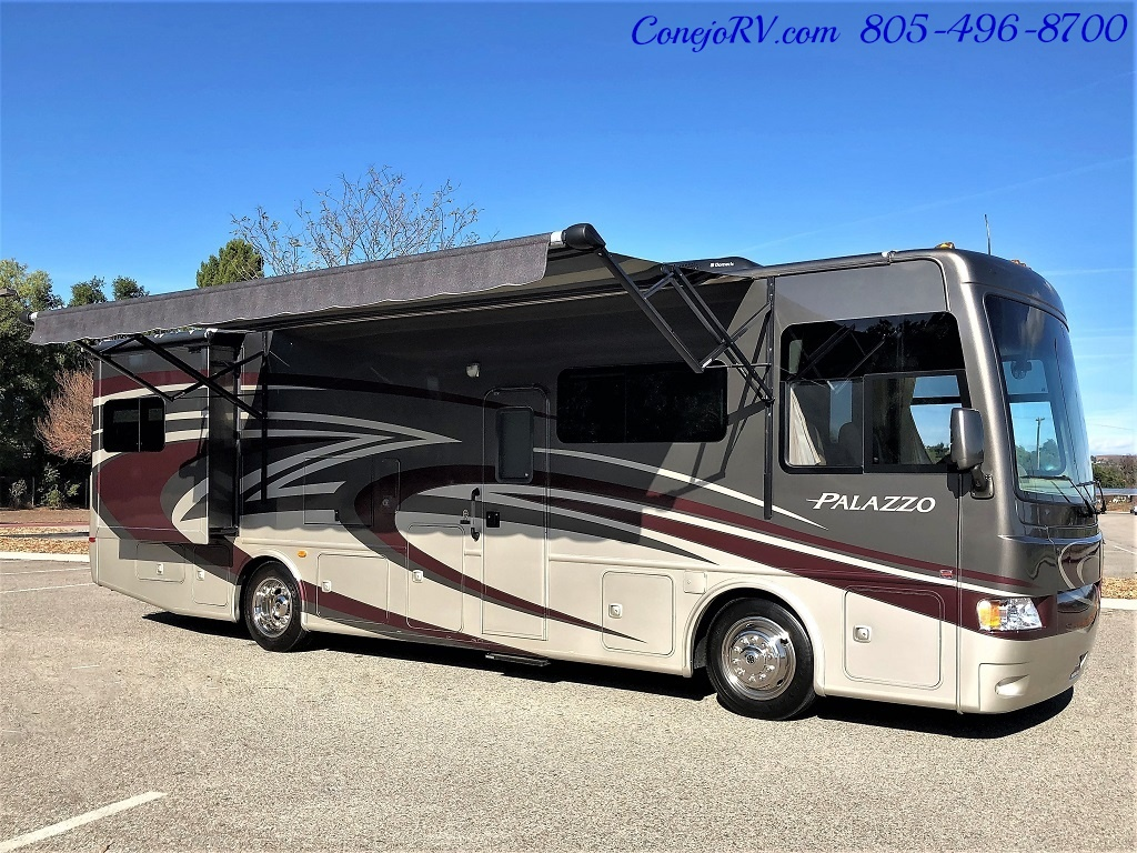 2014 Thor Palazzo 33.3 Double Slide Outs Bunkhouse Diesel - Photo 44 - Thousand Oaks, CA 91360