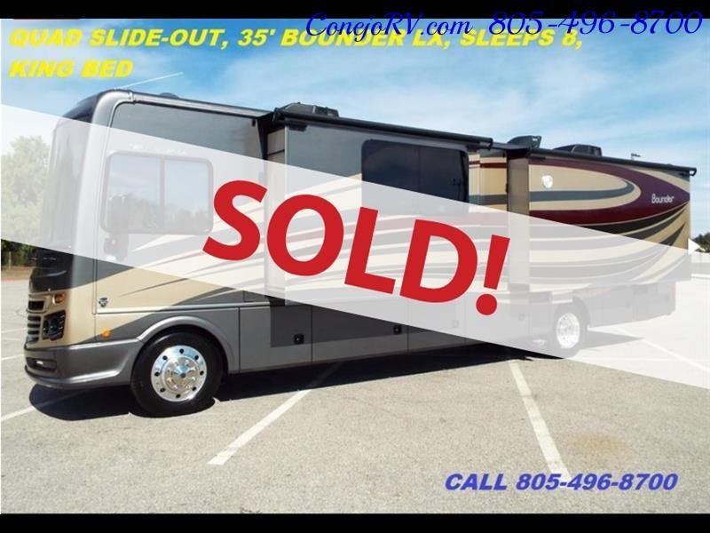2017 Fleetwood Bounder LX 35P Quad Slide-Out Big Chassis King Bed - Photo 1 - Thousand Oaks, CA 91360