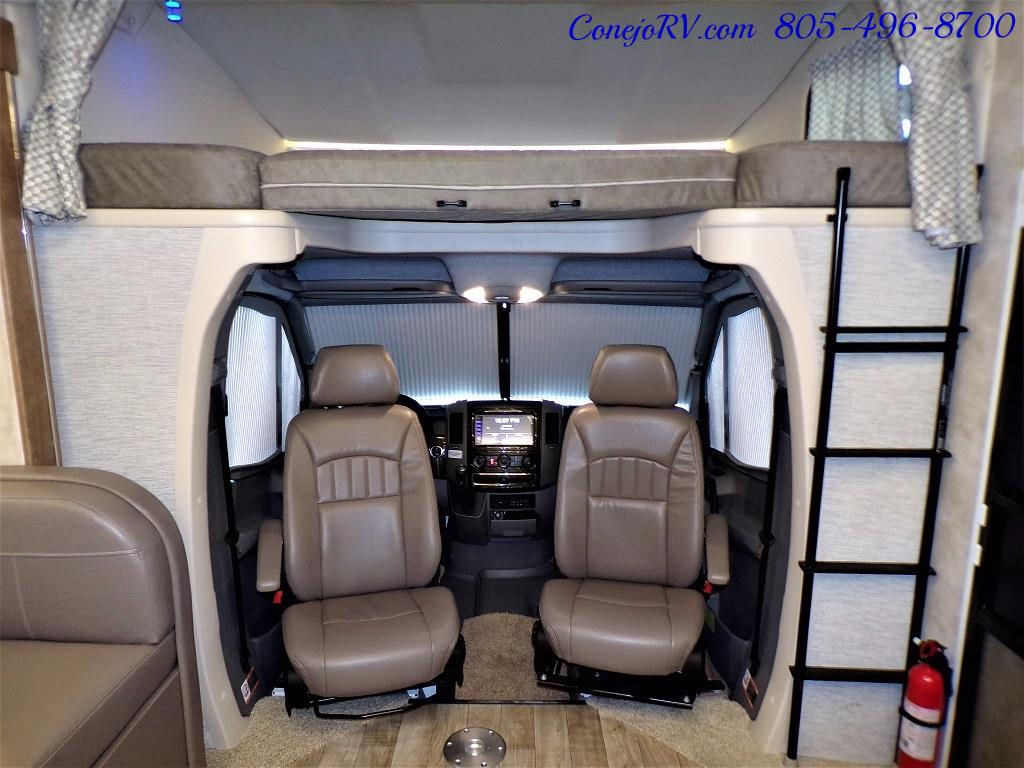 2018 Winnebago Navion 24D Full Wall Slide-Out Mercedes Turbo DSL - Photo 27 - Thousand Oaks, CA 91360