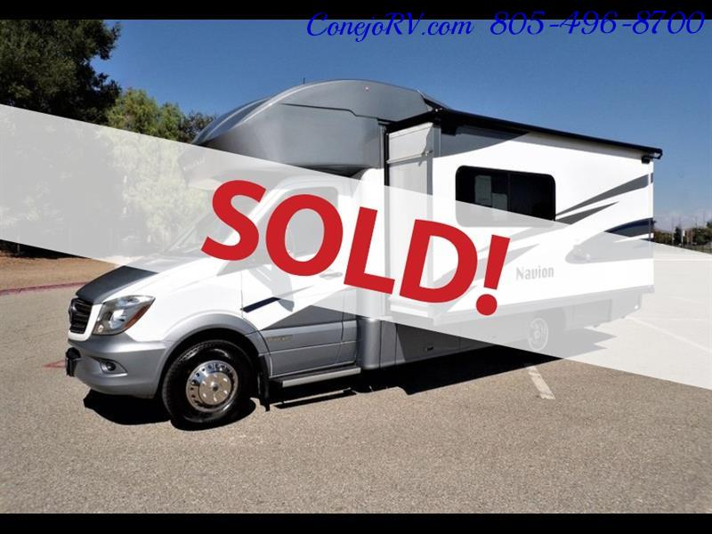 2018 Winnebago Navion 24D Full Wall Slide-Out Mercedes Turbo DSL - Photo 1 - Thousand Oaks, CA 91360
