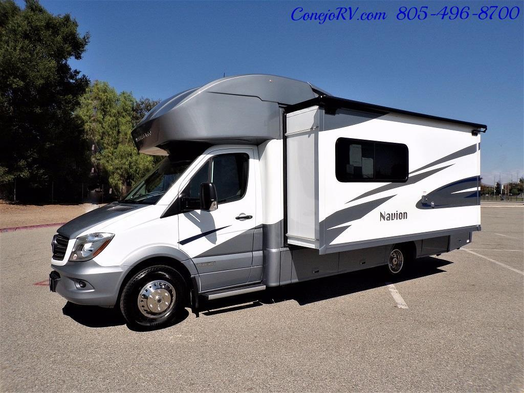 2018 Winnebago Navion 24D Full Wall Slide-Out Mercedes Turbo DSL - Photo 47 - Thousand Oaks, CA 91360