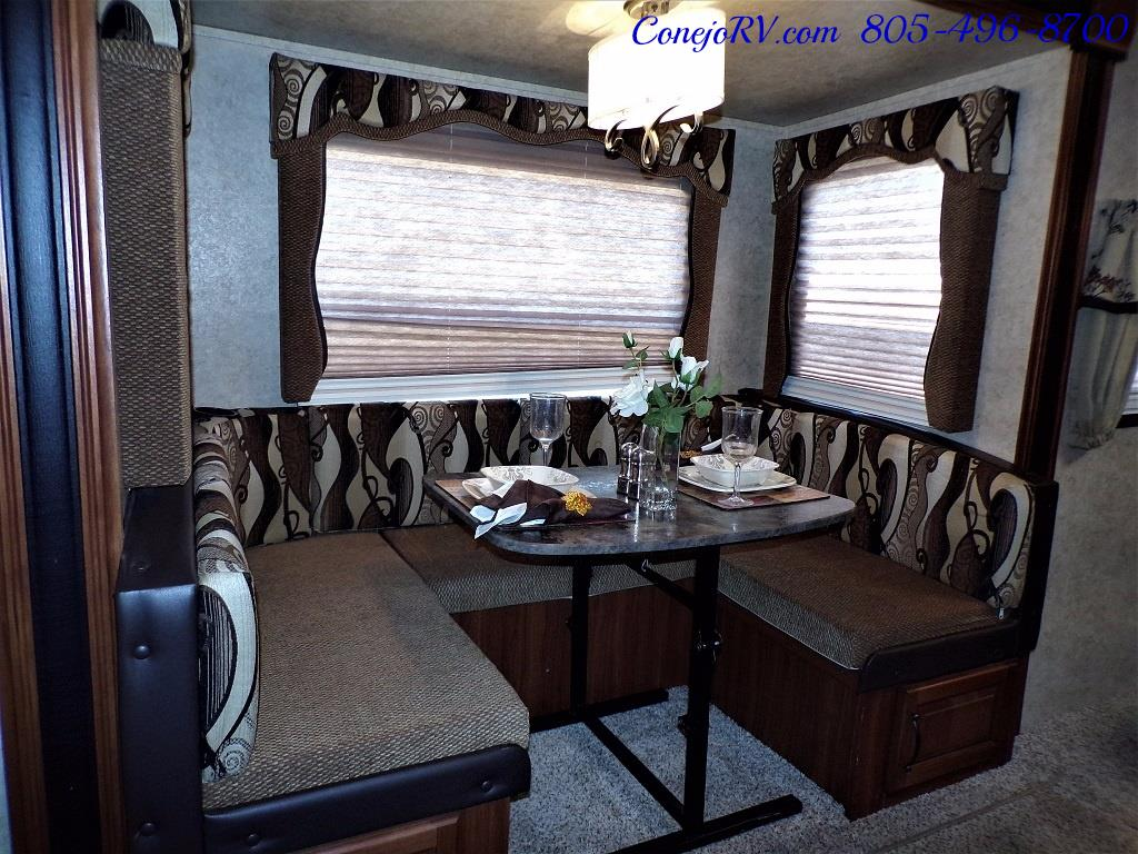 2014 Keystone Cougar 21RBS Slide Out Travel Trailer - Photo 8 - Thousand Oaks, CA 91360
