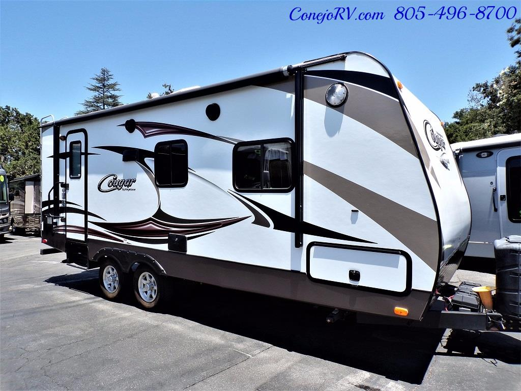 2014 Keystone Cougar 21RBS Slide Out Travel Trailer - Photo 3 - Thousand Oaks, CA 91360