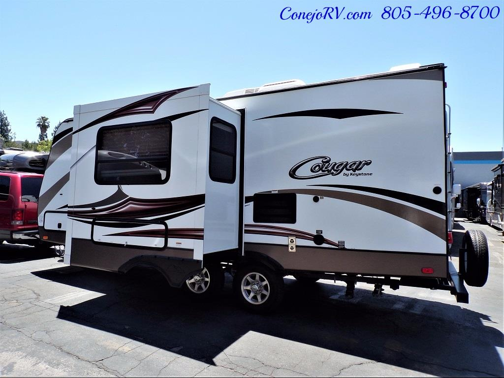 2014 Keystone Cougar 21RBS Slide Out Travel Trailer - Photo 2 - Thousand Oaks, CA 91360